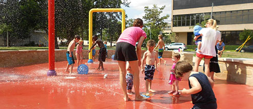 Bailey Splash Pad