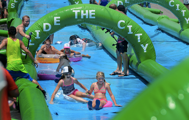 Slide The City Coming to Vancouver